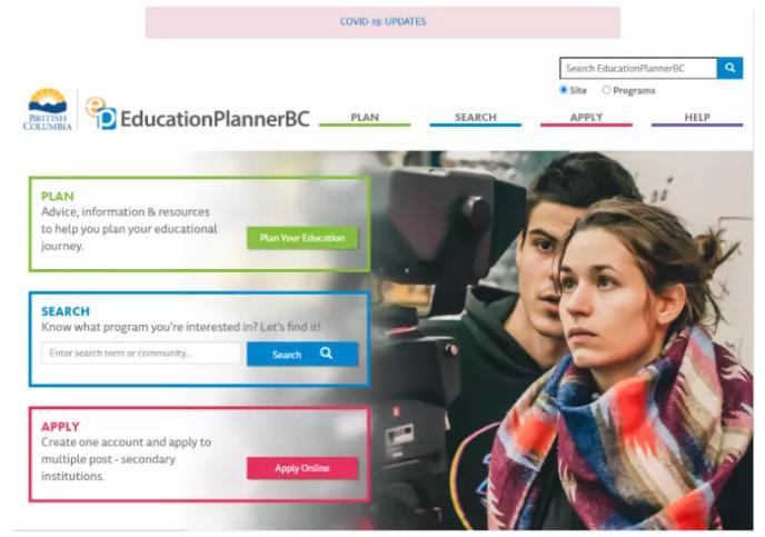 英属哥伦比亚大学入学申请方式
