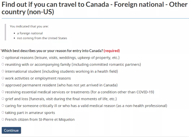 入境加拿大