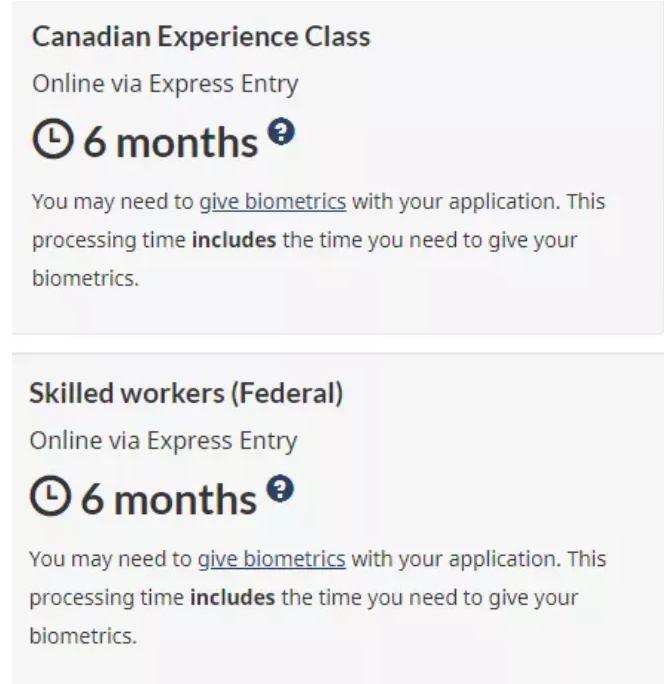 加拿大移民申请进度